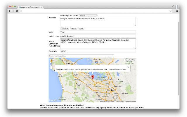 Find A Code >> Address Verification Find A Zip Code