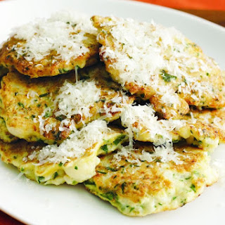 Cauliflower Fritters With Parmesan.
