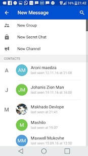 Easy Chat Messenger - náhled