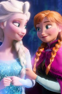 Frozen Wallpaper Anna and Elsa - náhled