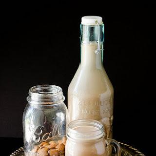 DIY Chocolate Almond Milk