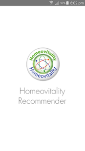 Homeovitality Recommender- screenshot thumbnail