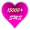 15 000+ Messages SMS d'amour ♥