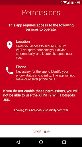 Xfinity WiFi Hotspots 5.6.2 screenshots 2