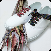Shoelace knots styles