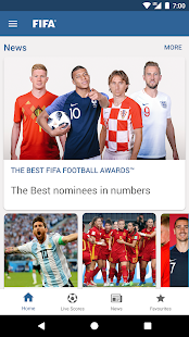 App FIFA - Tournaments, Soccer News & Live Scores APK for Windows Phone
