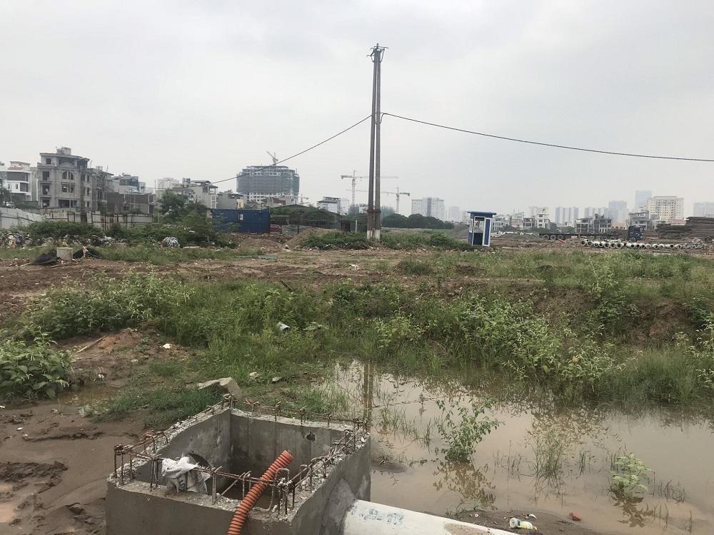 Hệ thống điện chiếu sáng tại dự án Tây Nam Kim Giang
