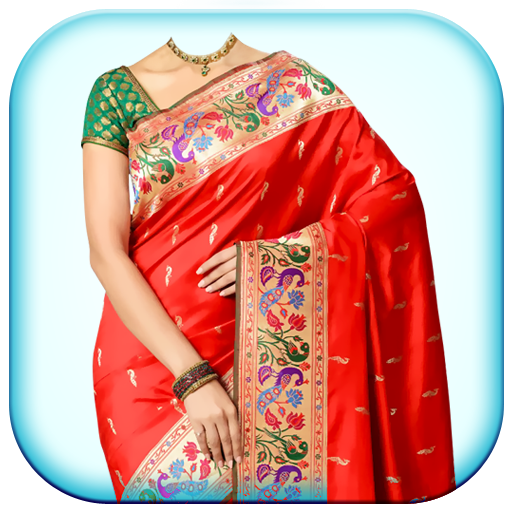 0fdcb488c0 Woman Fancy Saree Photo Suit Montage - Apps on Google Play