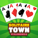 SOLITAIRE TOWN : KLONDIKE icon