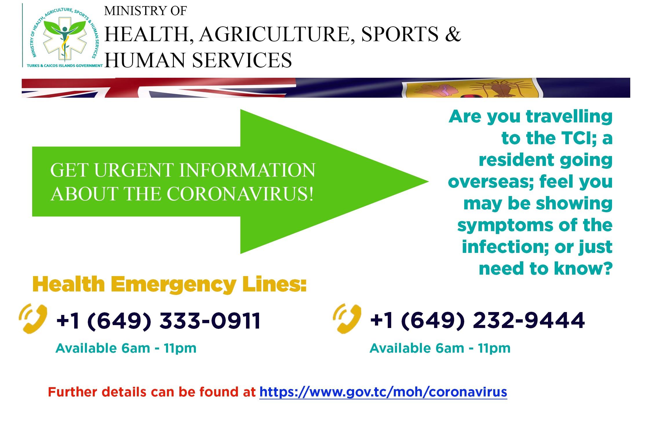 Health Emergency Lines