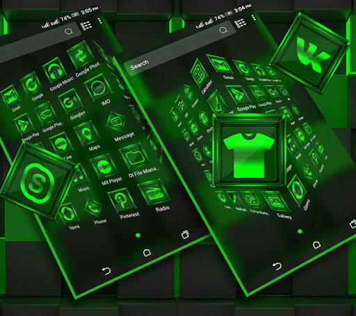 Download Green Light Launcher Theme on PC & Mac with AppKiwi