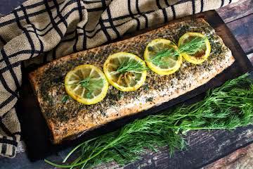 Cedar Plank Salmon