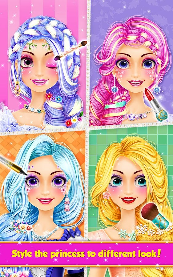 Prime Long Hair Princess Hair Salon Android Apps On Google Play Short Hairstyles Gunalazisus