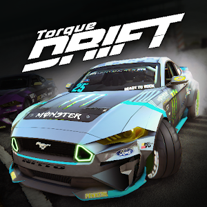 Torque Drift Become a DRIFT KING! 1.8.7 by Grease Monkey Games logo