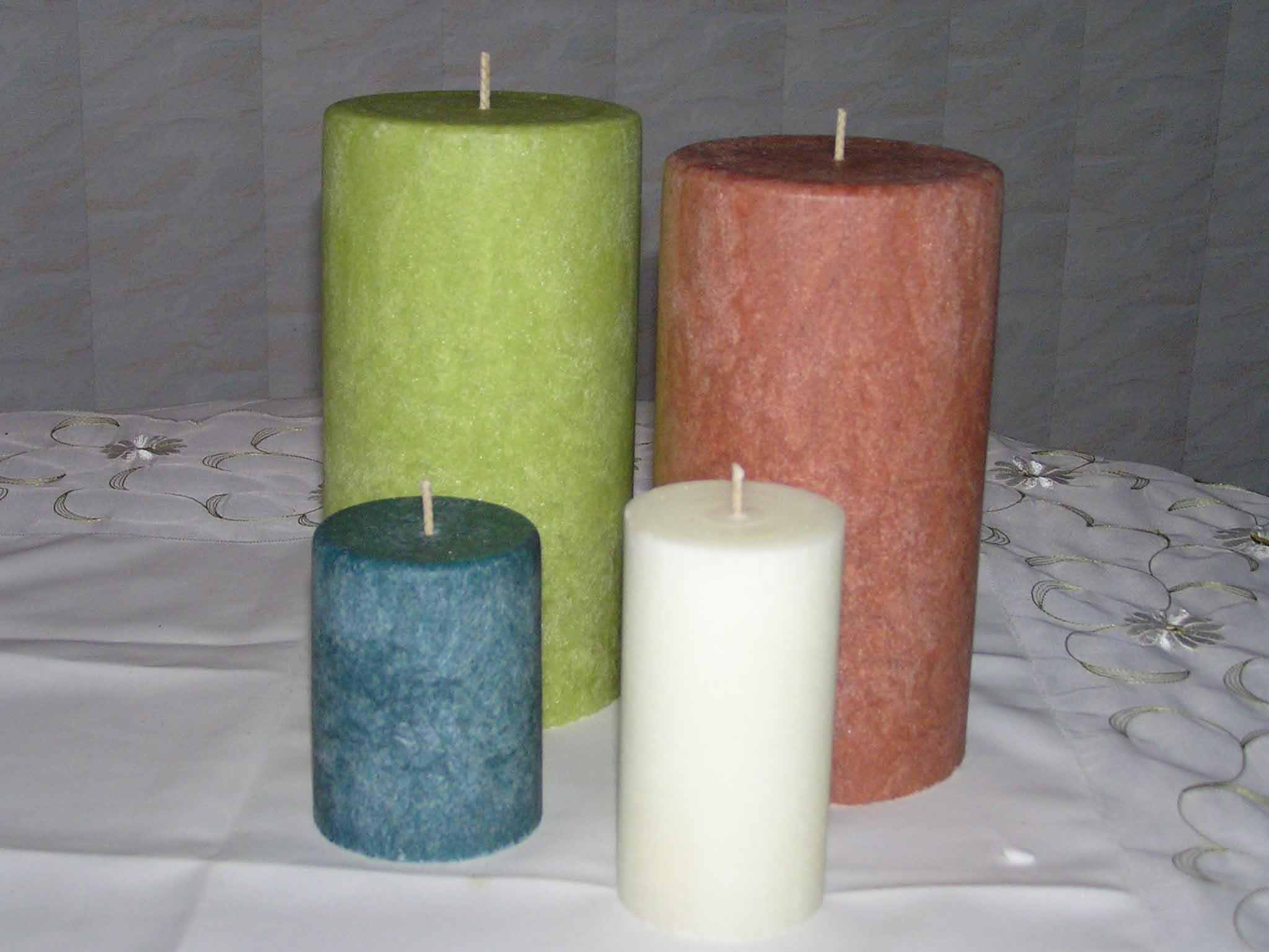 Soy Pillar Candles