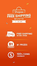 Shopee Free Shipping Month APK screenshot thumbnail 2