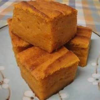 Pumpkin Mochi.