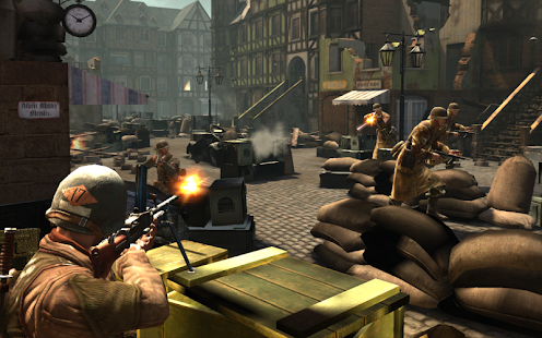 FRONTLINE COMMANDO: WW2 Screenshot