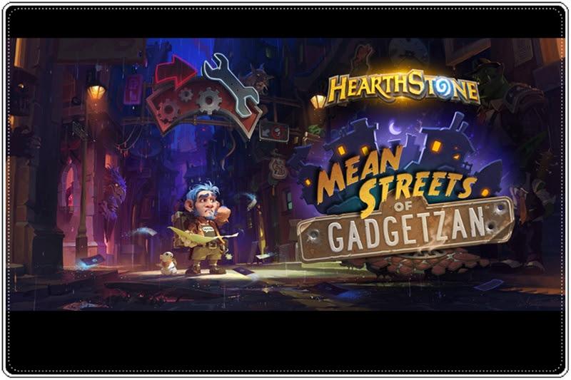 [Hearthstone] สร้างตัวจากอาชญากรรมใน MEAN STREETS OF GADGETZAN