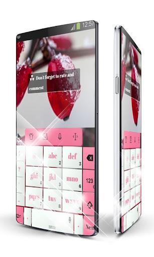 玩免費個人化APP|下載Pink Winter TouchPal Theme app不用錢|硬是要APP