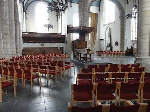 Photo: Binnen in de Sint-Jacobskerk