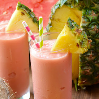 Watermelon Pina Colada