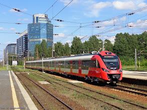 Photo: 35WE-010 (SKM Wwa), Warszawa Falenica - Piastów {Warszawa Zachodnia; 2014-07-13}