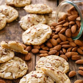 Marzipan-Stuffed Almond Sugar Cookies.
