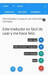 Spanish English Translator 7.6.2 Mod APK Download 1