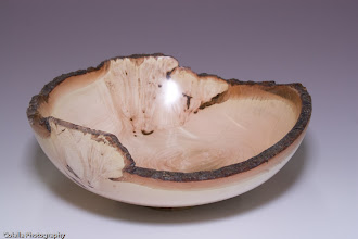 Photo: Richard Webster - Natural Edge Bowl - maple