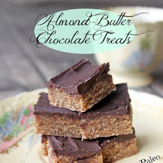 Almond Butter Chocolate Treats