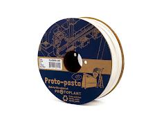 Proto-Pasta Back-to-basics White HTPLA Filament - 1.75mm (1kg)