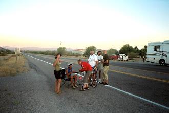 Photo: Noch waren wir 200 Km vom Ziel entfernt