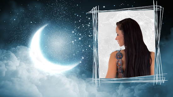 Night Moon Photo Frames - náhled