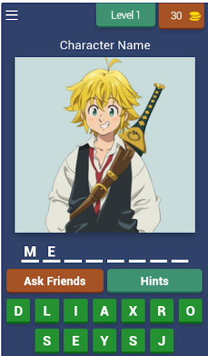 The Seven Deadly Sins Character Quiz hack tool