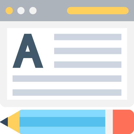 icona per lo sviluppo di siti web