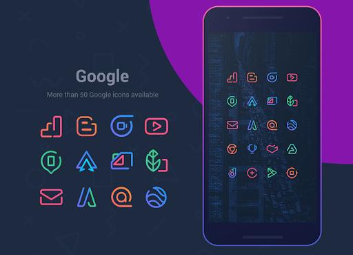 Linebit - Icon Pack  screenshots 3