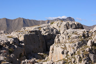Photo: Canyon Apache ? Non, non, une simple faille dans l'oucane.