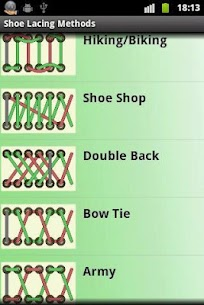 Lacing Shoes Lessons 2.0 Mod APK Updated Android 1