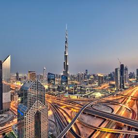 Heart of the City, My Dubai by Vic Pacursa - Buildings & Architecture Office Buildings & Hotels ( dubai, nikkor, long exposure, nikon, dubai photographer )