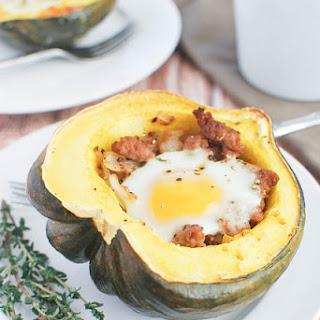 Breakfast Stuffed Acorn Squash