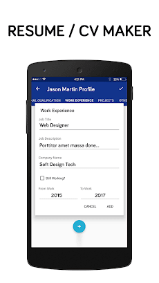 best resume making app free resume builder app androidアプリ applion
