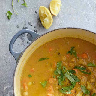 Moroccan Chickpea and Vegetable Soup