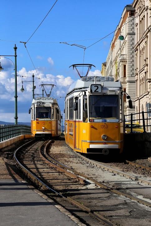 Budapeszteński tramwaj, Budapeszt