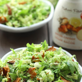 Bacon and Brussels Sprouts Caesar Slaw