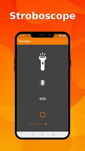 Simple Flashlight - Bright display & stroboscope screenshots 2