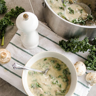 Dairy-Free Cream of Mushroom Soup (directions for condensed!).