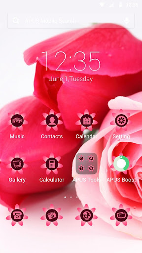 Rosa rugosa theme for APUS