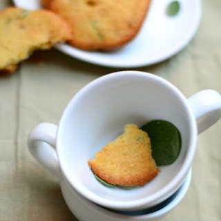 Ginger And Sage Drop Cookies