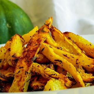 Baked Acorn Squash Fries